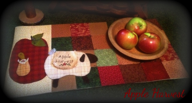 Apple Harvest Paper Pattern