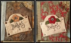 Recipes Journal Paper Pattern