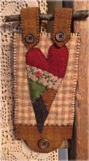 Country Heart HU-008 packaged pattern