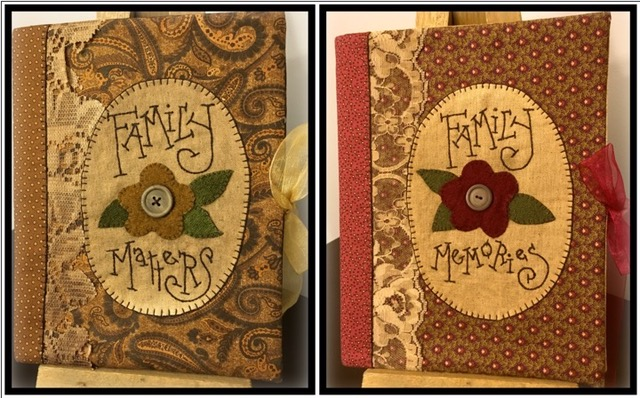 Family Memories Journal Packaged Pattern